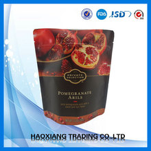 Matt black printing with custom design health food black sesame seeds packing foil bag 200g