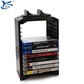 Multifunction PS4 Gaming CD disk storage stand kit with dual charger dock