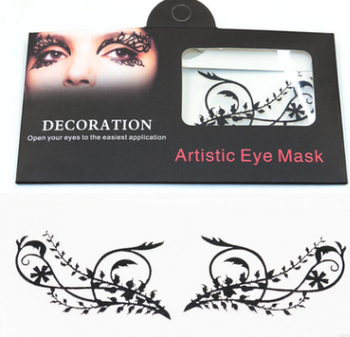 artistic eye lash mask face mask