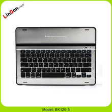 Factory Wholesale Slim Mobile Wireless Aluminum Bluetooth 3.0 Keyboard For iPad Pro 12.9 Inch