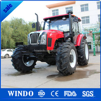 Best price for mini farm escort tractor with front end loader and backhoe