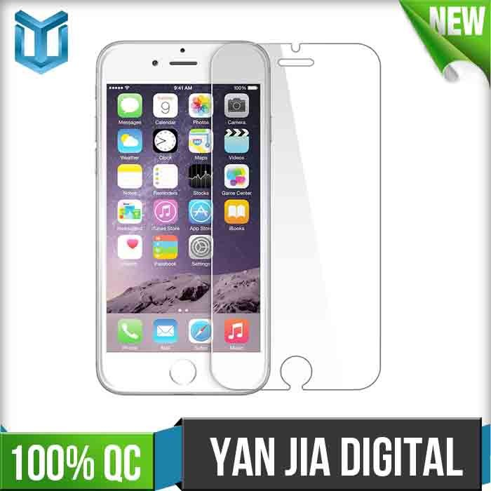 Anti shock 0.26mm tempered glass protective film for iphone6