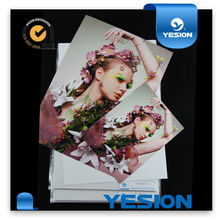 Newest inkjet printing 210g 230g glossy a4 inkjet printing photo paper waterproof 20 sheet transparent bopp bags packing