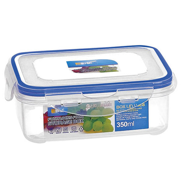 BPA FREE 350ML Eco Friendly Food Container Leak Proof Bento Lunch Box