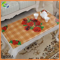 Zhejiang Yiwu polyester linen tablecloth in roll