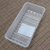 Top Class rectangle food box plastic blister packing food fruit tray insert liner