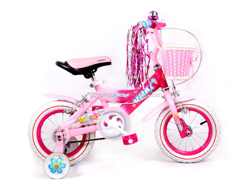 "12"" barbie nice girl bicycle/ colorful kid bikes on sale/ pink color children bicycles hotsale"