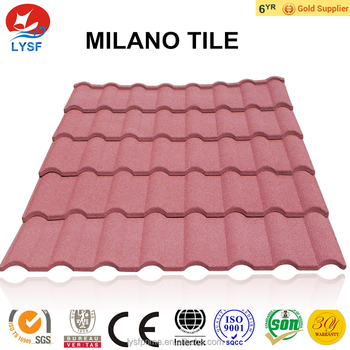 Milano tile - Stone Coated Steel Roofing Tile