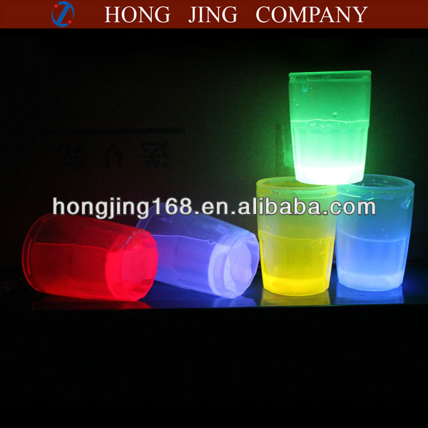 New arrival glowing shot glass in the dark
