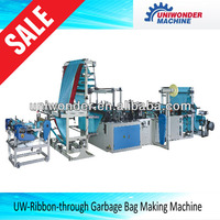 Ribbon-through Garbage Bag Making Machine