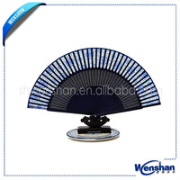 hand held bamboo paper craft fan