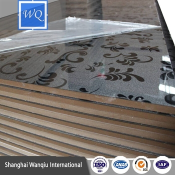 High Glossy Acrylic MDF Boards / High Gloss MDF