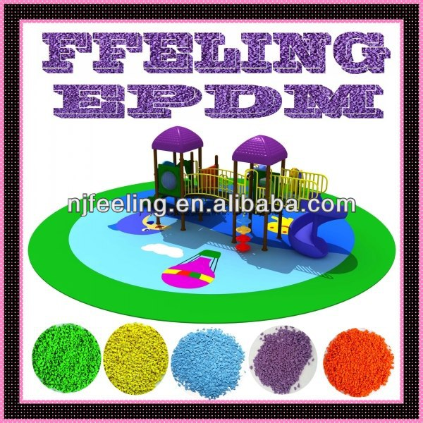 Colored epdm crumb rubber/epdm granules/epdm chips-G-I-13121203