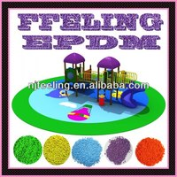 Colored Epdm Crumb Rubber Epdm Granules