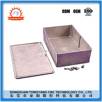 Custom made machining precision OEM cnc milling aluminum enclosure box with favorable price
