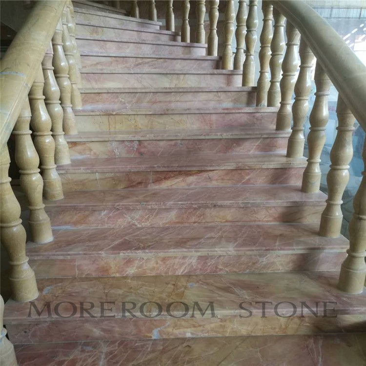 -- Home Design Luxury Onyx Marble Stone Staircase (2)