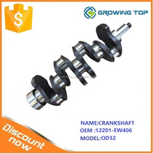 Forged Steel Crankshaft 12201-EW406 for for Nissans SD22 SD23 SD25 QD32 ZD30 GA16