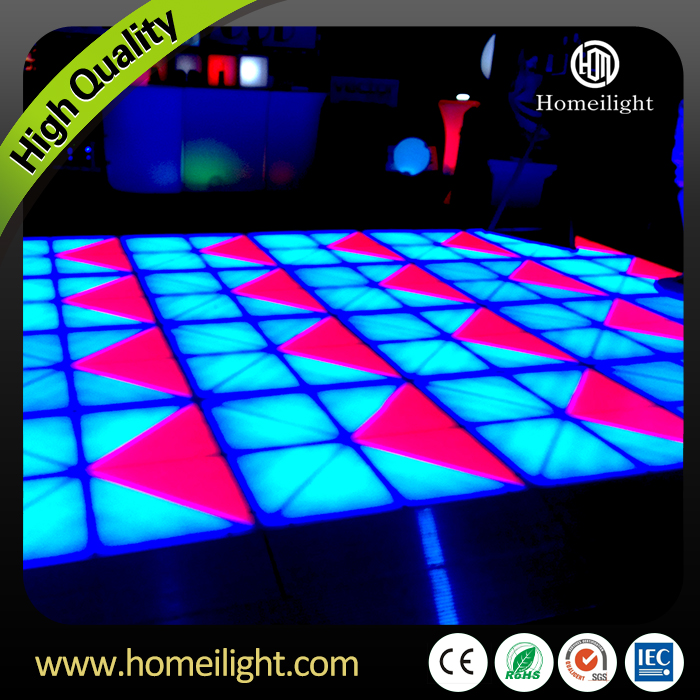 Guangzhou Manufacture Supply Make RGB Led Dance Floor With 27DMX Channels