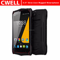 4GB/64GB 4G Lte NFC Waterproof IP68 Rugged 5.5 Inch Smartphone celulares android