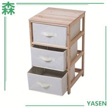 Aneway Houseware Small Wooden Cabinet Multi Drawer,Small Wooden Cabinet With 3 Drawers