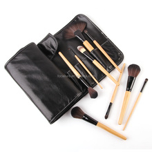32 brushes for facial makeup professional makeup brushes with black pouch bag science purchaseng strips