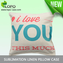 Sublimation blanks China Double side printable pillow covers