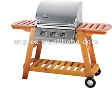 Full Grade 430 stainless steel outdoor large gas bbq grills/propane gas burner