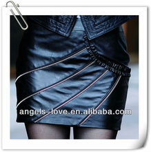 wholesale ladies leather skirt, women wearing leather mini skirts, tight leather skirts