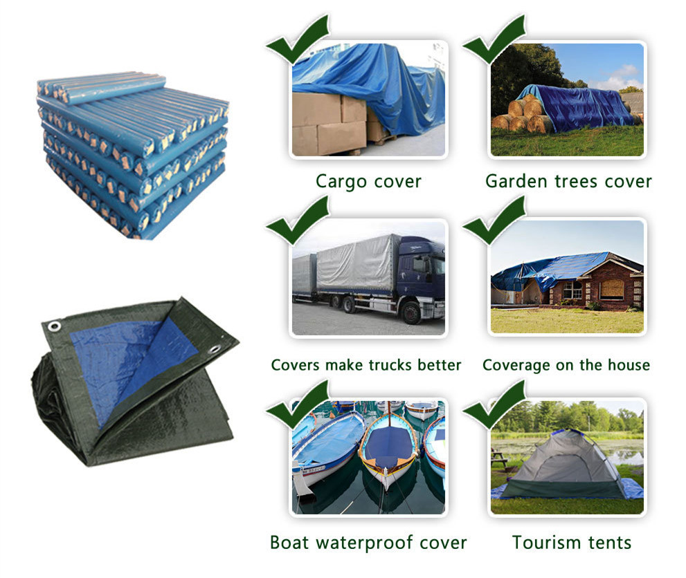 China PE Tarpaulin factory,waterproof fabric for gazebo cover,UV protected poly tarps