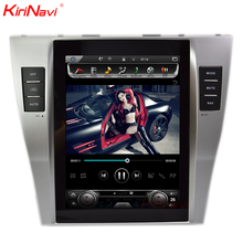 "KiriNavi Vertical Screen Tesla Style android 6.0 10.4"" for toyota camry car multimedia system 4G dvd gps"