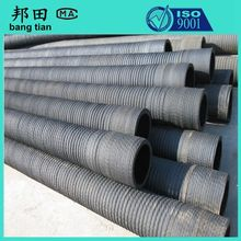 High pressure flexible corrugated rubber hoses/suction and delivery hose