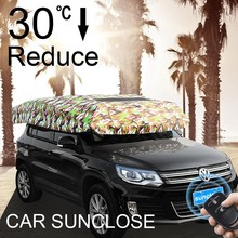 SUNCLOSE Factory beer pvc promotional beach umbrella car visors screens window sunshades for cars