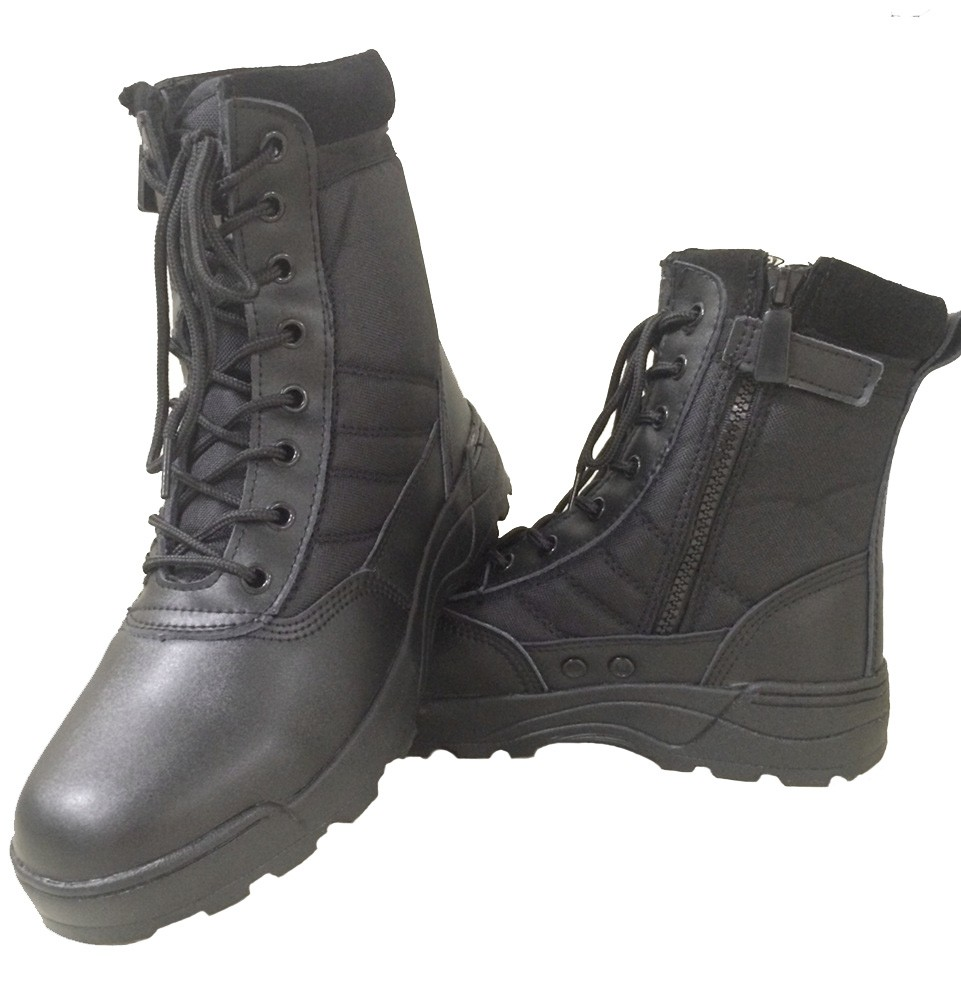 2016 winter tactical military army tactical rubber boots in stock