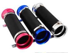 Intake Tube Retractable Hose Stretch One Meter Telescopic Tube Aluminum Air Inlet Hose Double Diversion Air Intakes