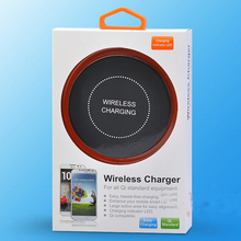 Custom Black Wireless Charger Qi Receiver