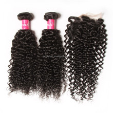 Natural black virgin Brazilian hair bundles 7a grade unprocessed cuticle aligned hair