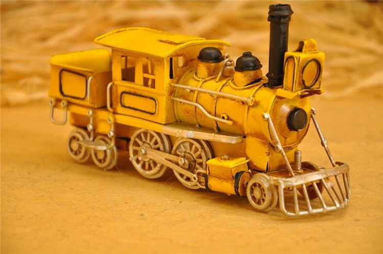 Factory Sale OEM design toy live steam brass model train for wholesale