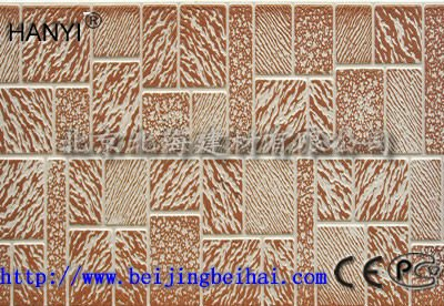 Exterior decorative wall panel / Building facade panel / PU foam siding popular in Russia