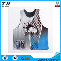 Custom Sublimated Reversible Lacrosse jersey