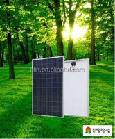 High quality low price Chinese Zhejiang Ningbo Ring Electronics Co.,Ltd flexible18V 245W poly solar panel