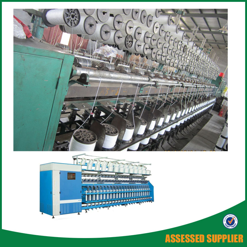 Pp Filament Yarn Twister Double Two Spindle Twisting Machine