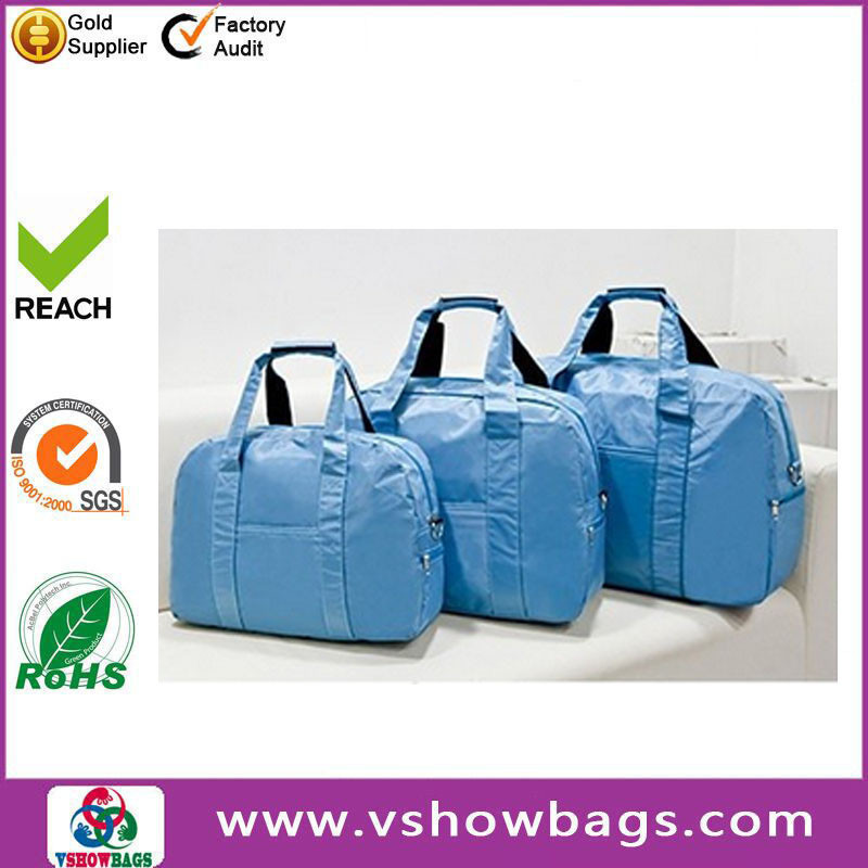 OEM/ODM Polyester 600D Foldable Travel Bags For Men felt handbag for shopping Weekend Trip Travel Bag