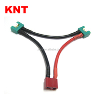KNT T Plug Wire Harness Series Battery Connector Deans Female to MPX Male
