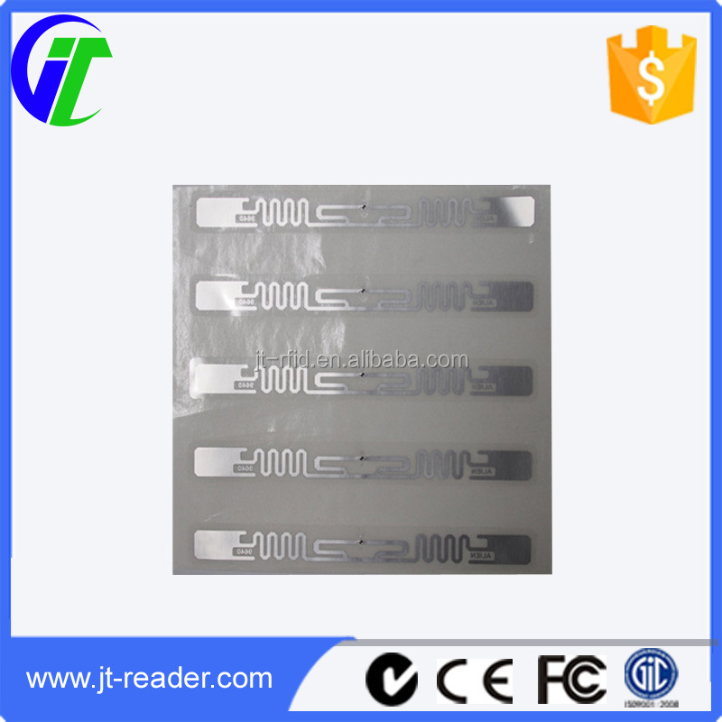 9640 wet Alien chip UHF rfid tag with FHSS mode