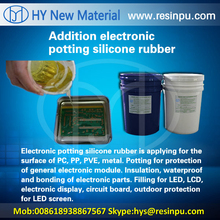 Electronic potting compound silicone rubber for led circuit board