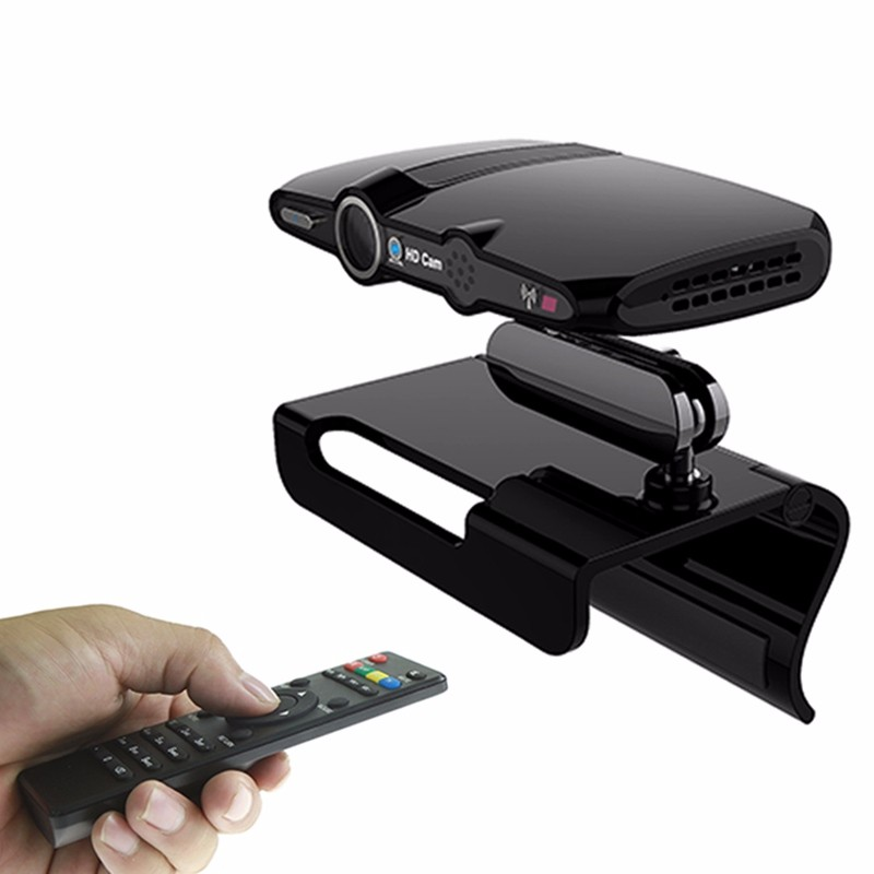 Original HD23 OEM LOGO usb camera for android tv box free movies HD23 TV Camera 4K smart media player with remote control.
