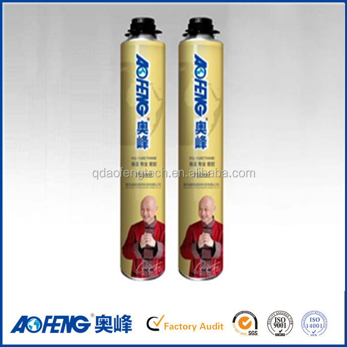 Fire resistant high expanded pu foam sealant 80% foam