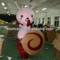 little snail cartoon character mascot costume party costume