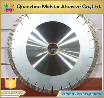 Midstar diamond cutting saw blade for granite