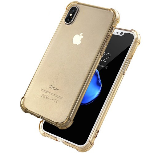 Shockproof Transparent Phone Bumper Case for iPhone X 8 7 6 6S Plus Soft Gel TPU Case Clear Back Cover